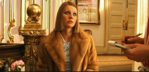 Gwyneth Paltrow in The Royal Tennebaums inspired a hunt for blond mink. TOUCHSTONE PICTURES