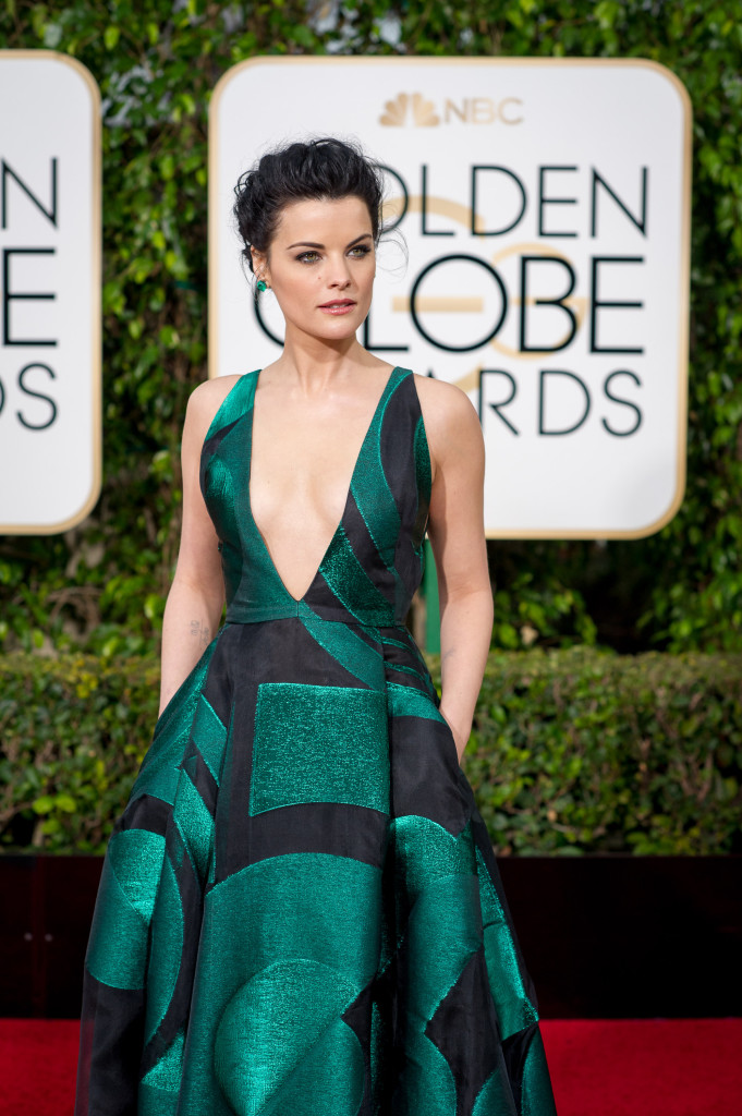 Jaimie Alexander arrives at the 73rd Annual Golden Globe Awards at the Beverly Hilton in Beverly Hills, CA on Sunday, January 10, 2016.