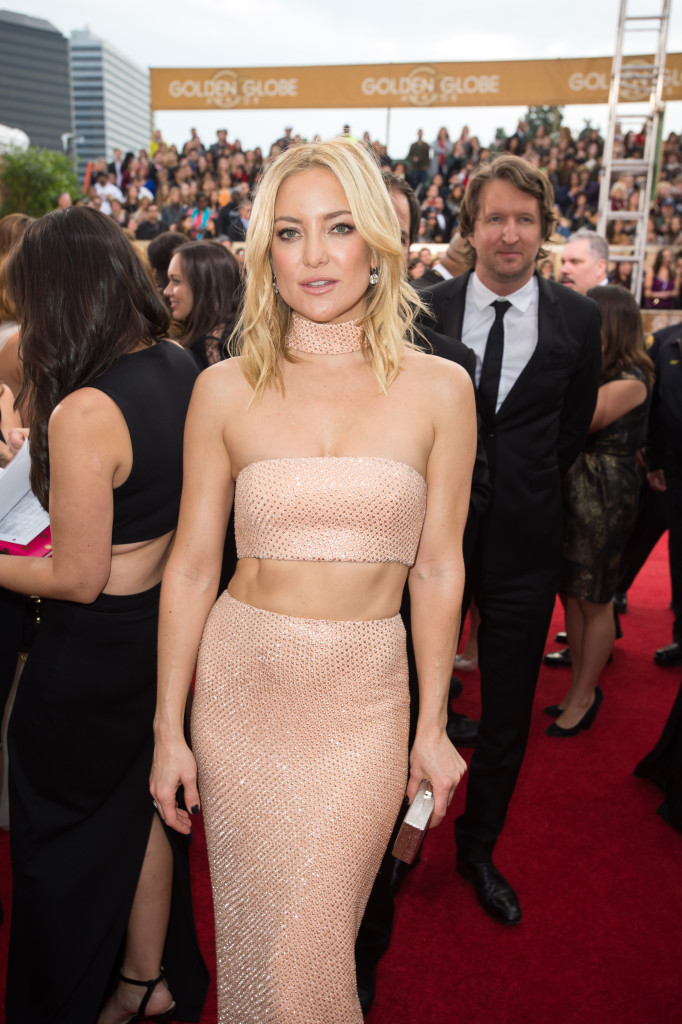 Kate Hudson in Michael Kors. HOLLYWOOD FOREIGN PRESS ASSOCIATION