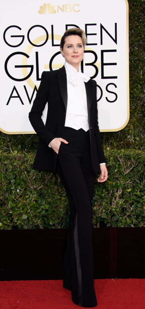 Rachel Evan Wood in Altazurra: the tux is a gal