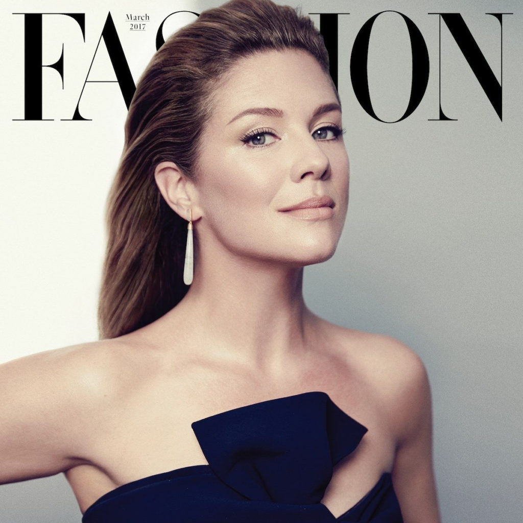 Sophie Grégoire Trudeau shot for Fashion Magazine, by Max Abadian.