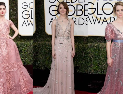 The Golden Globes: the prettiest in pink, the passé plunge and the trend du jour
