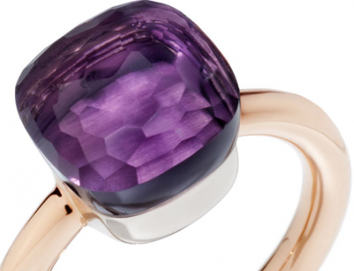 Amethyst of my eye: Pomellato inspires
