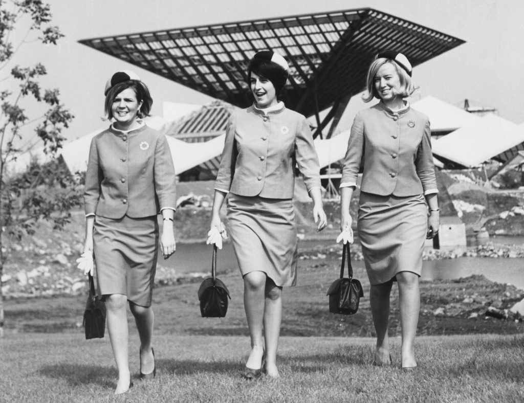 Expo 67: one square-toed pump in the past, a giant fashion leap forward