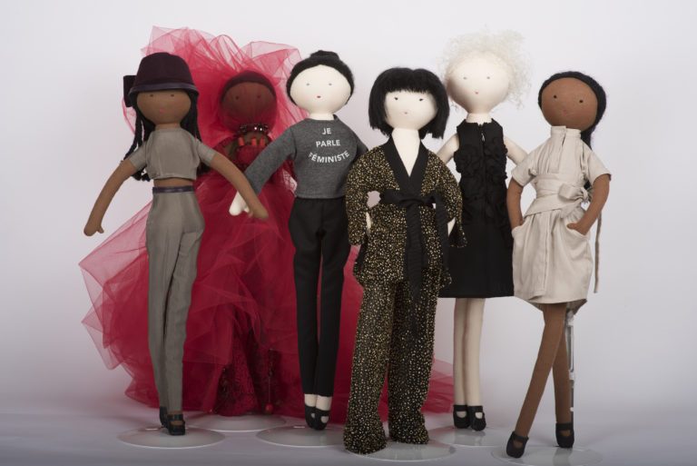 Coton Mouton: designer dolls decked out in Marie Saint Pierre, UNTTLD and more