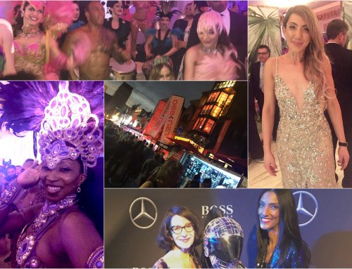 The scene: Fashion flashback to the Grand Prix parties