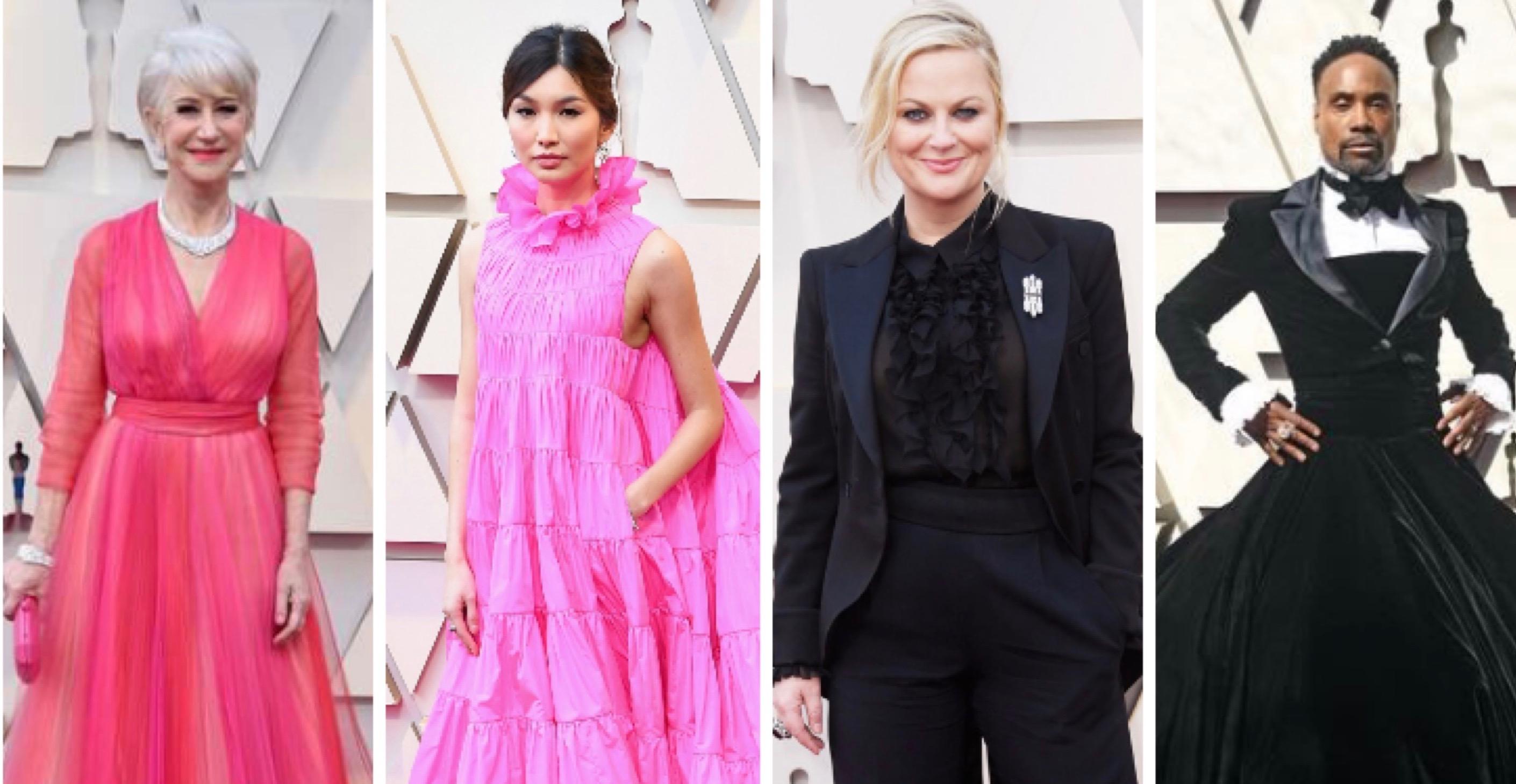Oscars favourites: yin, yang, pants and pink